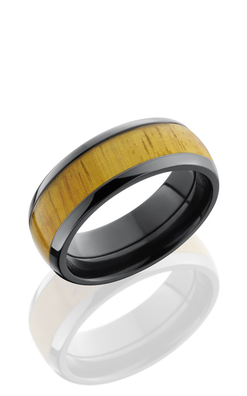 Lashbrook Hardwood Collection Wedding band ZHW8D15 OSAGEORANGE product image