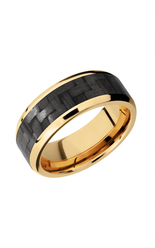 Lashbrook Carbon Fiber Wedding band 14KYC8B15 NS CF product image