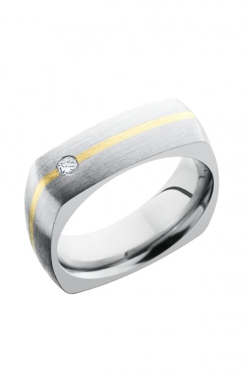 Lashbrook Titanium Wedding band 7DSQ11 14KYDIAOC 07F product image