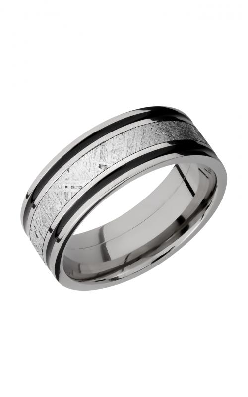 Lashbrook Meteorite Wedding band 8F1321_METEORITEA product image