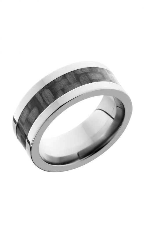 Lashbrook Carbon Fiber Wedding band C8F14_CF product image