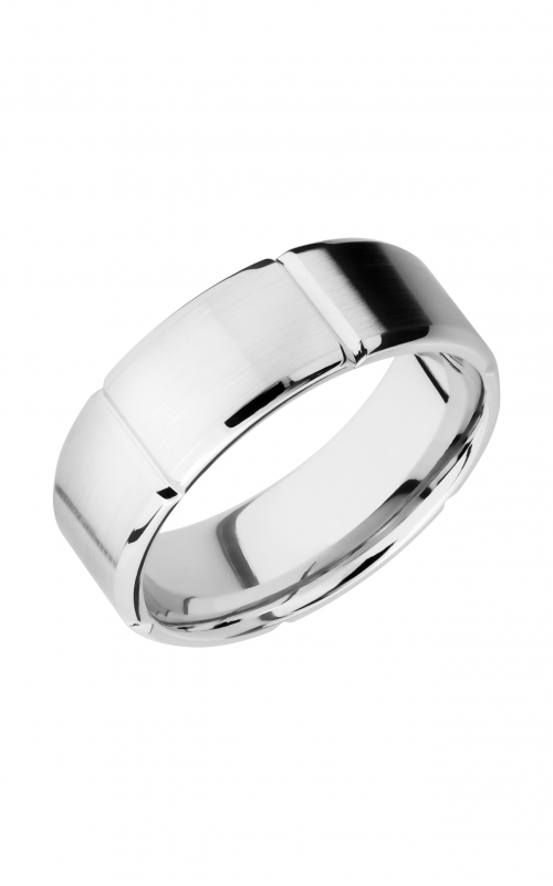 Lashbrook Cobalt Chrome Wedding band CC8B6SEG product image