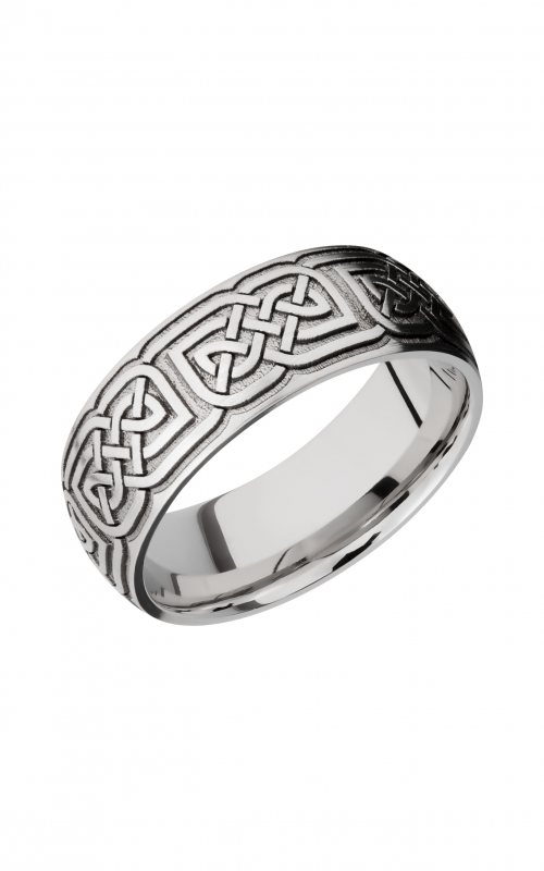 Lashbrook Cobalt Chrome Wedding band CC8D_LCVCELTIC17 product image