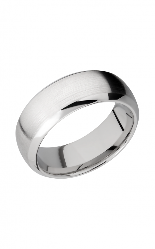 Lashbrook Cobalt Chrome Wedding band CC8DB product image