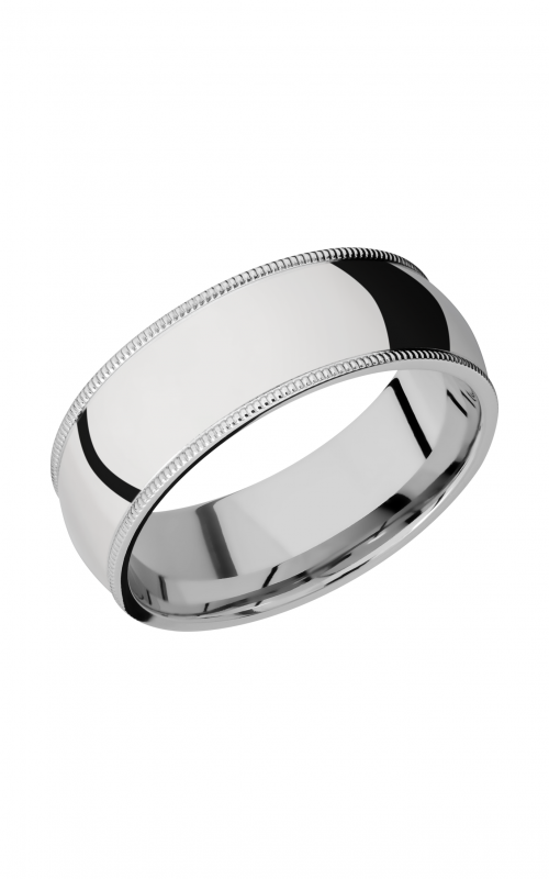 Lashbrook Cobalt Chrome Wedding band CC8DMIL product image