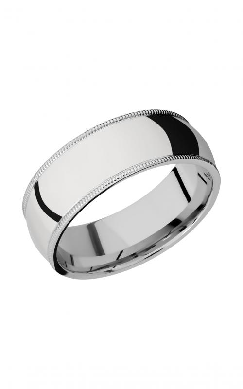Lashbrook Cobalt Chrome Wedding band CC8DMIL product image