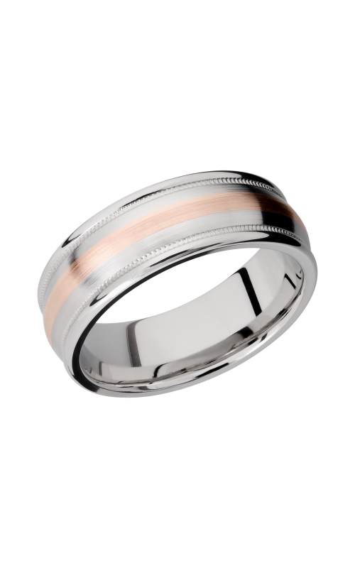 Lashbrook Cobalt Chrome Wedding band CC8RED2UMIL12_14KR product image