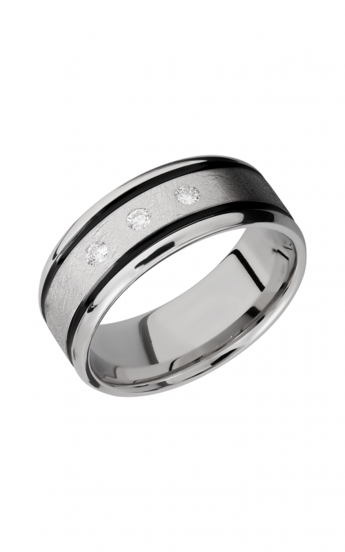 Lashbrook Cobalt Chrome Wedding band CC9B21W NS_ADIA3X.05F product image