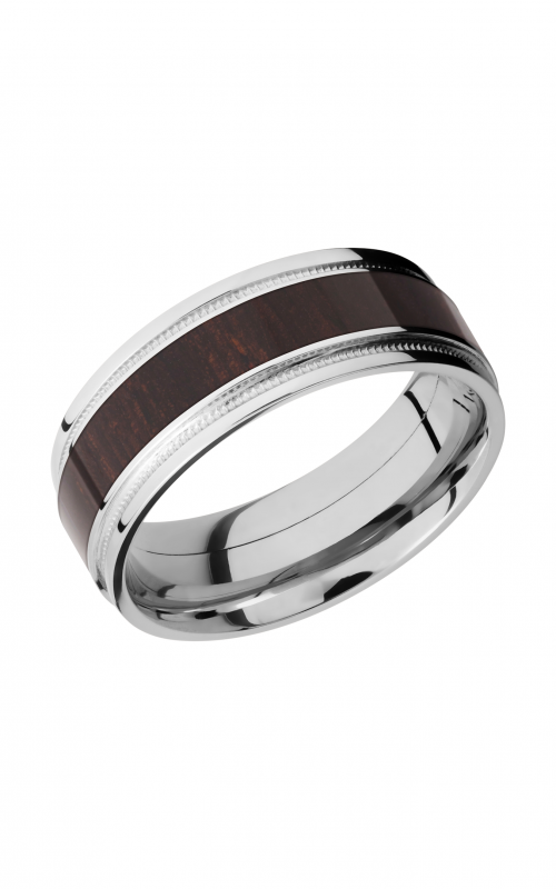 Lashbrook Hardwood Collection Wedding band CCHW8FGEW2UMIL14_WENGE product image