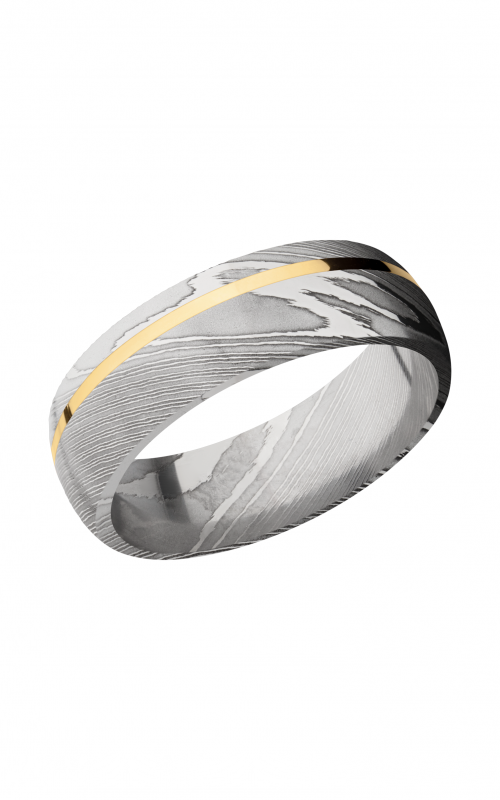 Lashbrook Damascus Steel Wedding band D7D11OC_14KY product image