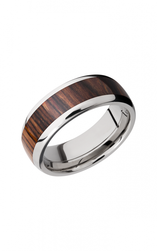 Lashbrook Hardwood Collection Wedding band HW8D15_NATCOCO product image