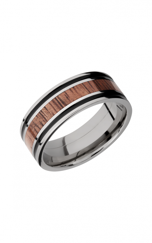 Lashbrook Hardwood Collection Wedding band HW8F1321_KOA product image