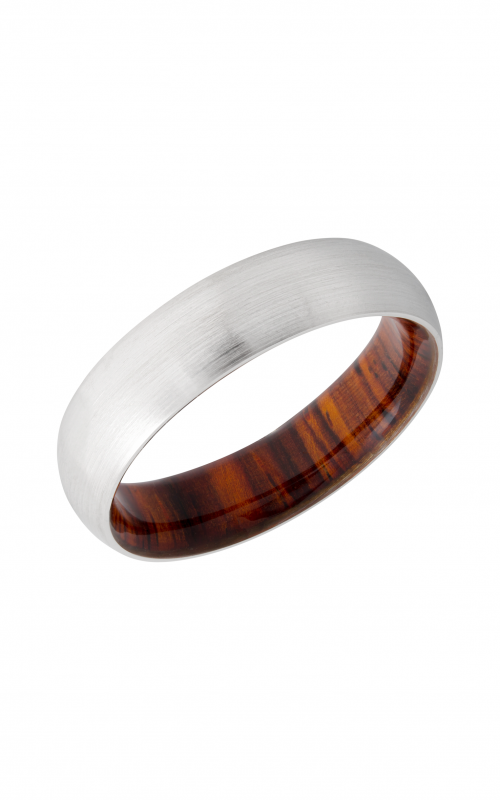 Lashbrook Hardwood Collection Wedding band HWSLEEVECC6D_DESERTIRONWOOD product image