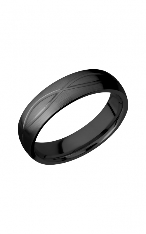 Lashbrook Zirconium Wedding band Z6DINF product image