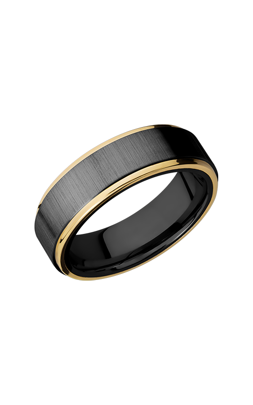 Lashbrook Zirconium Wedding band Z7FGE21EDGE_14KY product image
