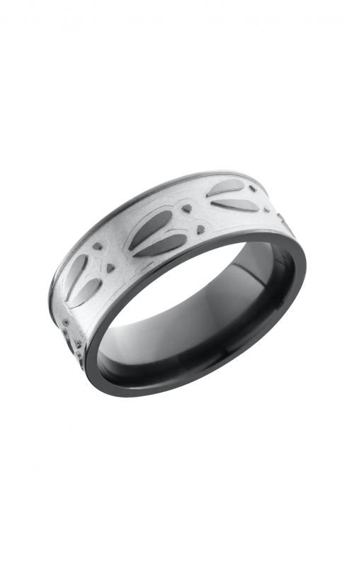Lashbrook Zirconium Wedding band Z8F_DEERU product image