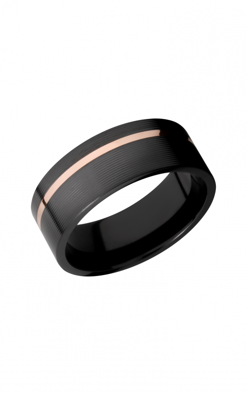Lashbrook Zirconium Wedding band Z8F11OC_14KR product image