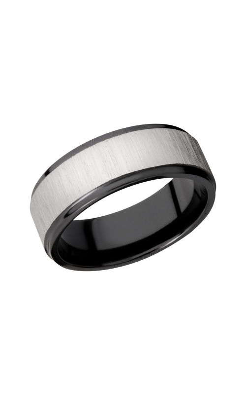 Lashbrook Zirconium Wedding band Z8FGE_SILVER product image