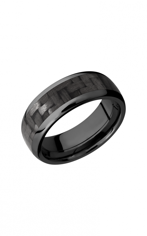 Lashbrook Carbon Fiber Wedding band ZC8D15_CF product image
