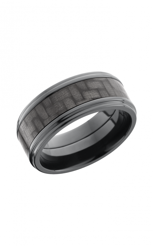Lashbrook Carbon Fiber Wedding band ZC9FGE15_CF product image