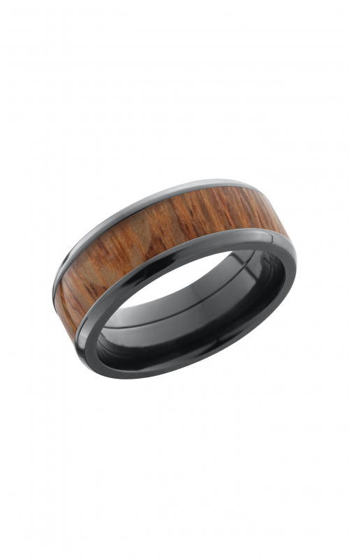 Lashbrook Hardwood Collection Wedding band ZHW8B15 NS_LEOPARD product image