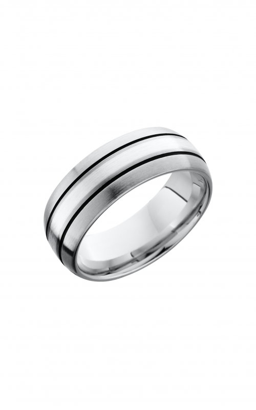 Lashbrook Cobalt Chrome Wedding band CC8D12_SSA product image