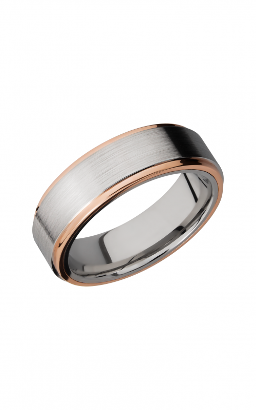 Lashbrook Cobalt Chrome Wedding band CC7FGE21EDGE_14KR product image