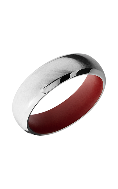 Lashbrook Precious Metals Wedding band 14KW7DB_CRIMSONIN product image