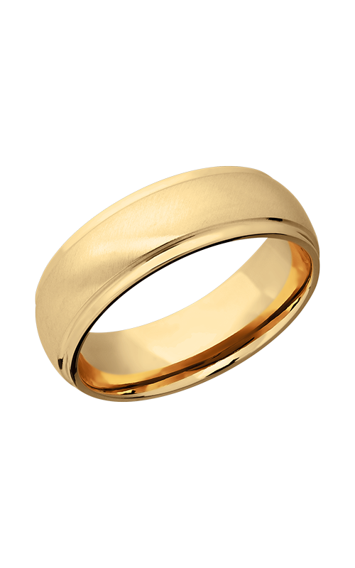 Lashbrook Precious Metals Wedding band 14KY7DGE-P product image