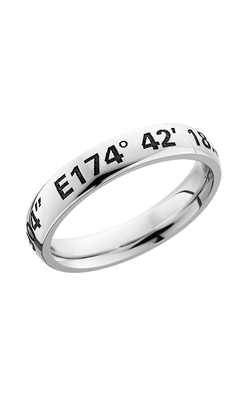 Lashbrook Cobalt Chrome Wedding band CC4D_LCVCOORDINATES product image