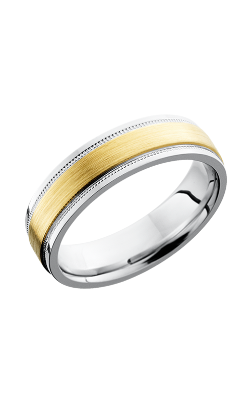 Lashbrook Cobalt Chrome Wedding band CC6FGEW2UMIL13C_14KY product image