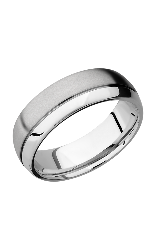 Lashbrook Cobalt Chrome Wedding band CC7D1.5OC product image
