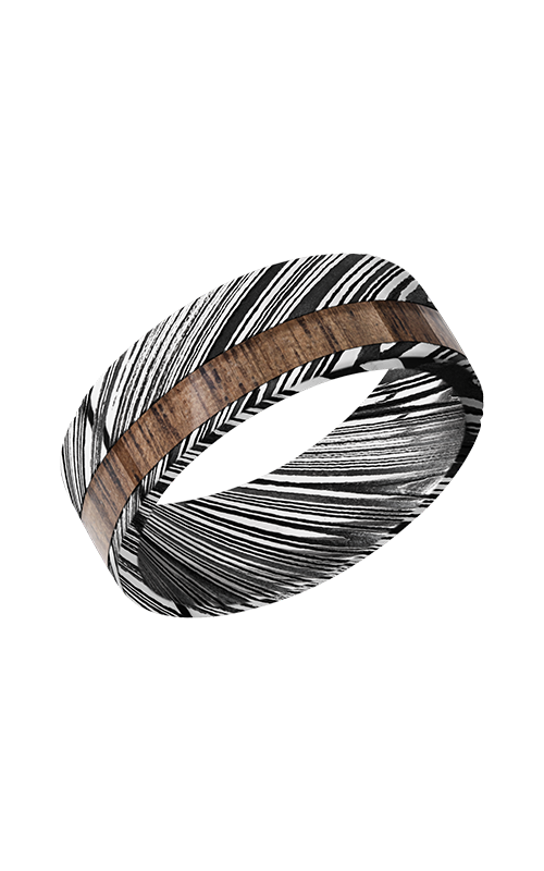 Lashbrook Hardwood Collection Wedding band D8F13OCWOODGRAIN_WALNUT product image
