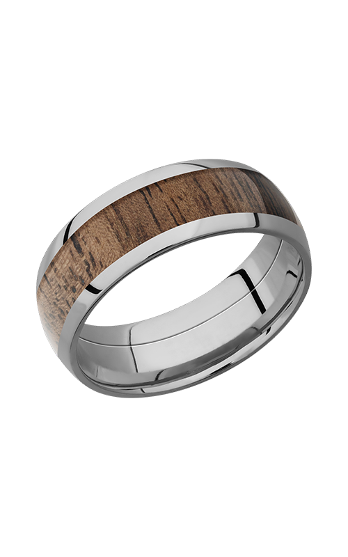 Lashbrook Hardwood Collection Wedding band HW8D15_WALNUT product image