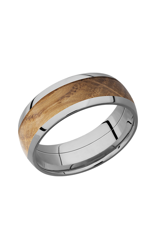 Lashbrook Hardwood Collection Wedding band HW8D15_WHISKEYBARREL product image