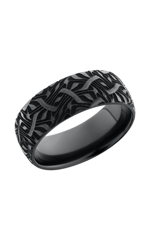 Lashbrook Zirconium Wedding band Z8D_BLCVESCHER2 product image