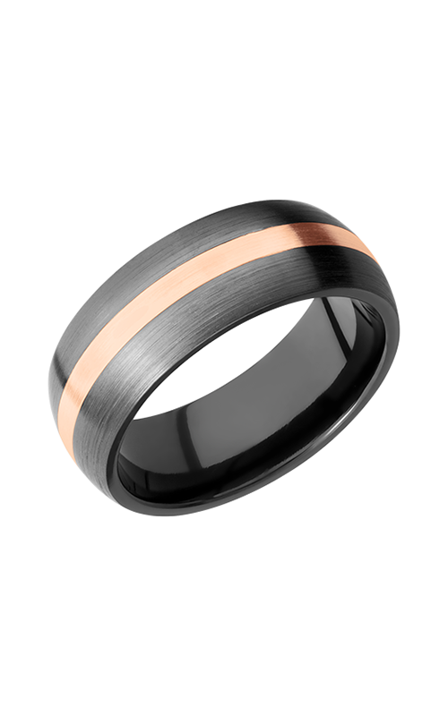 Lashbrook Zirconium Wedding band Z8D12_14KR product image