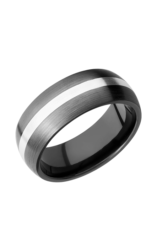 Lashbrook Zirconium Wedding band Z8D12_SS product image