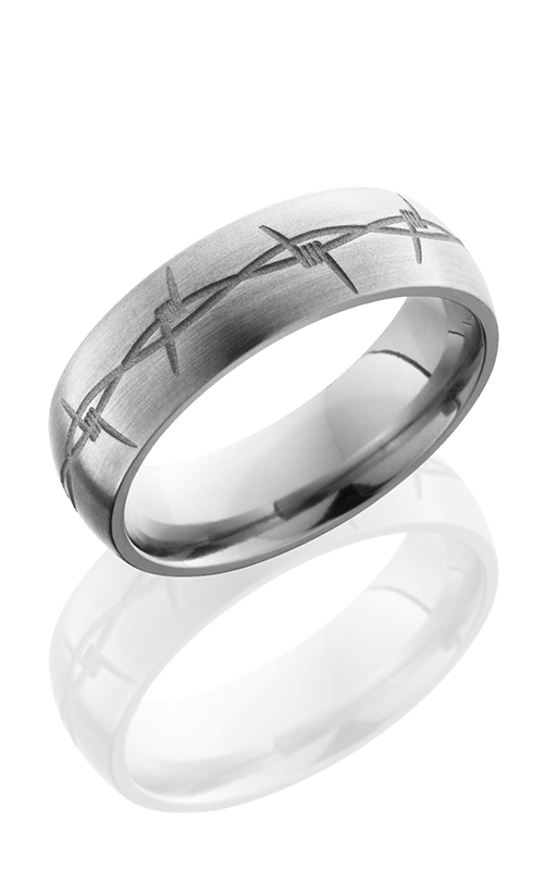 Lashbrook Titanium Wedding band 7DBARB product image