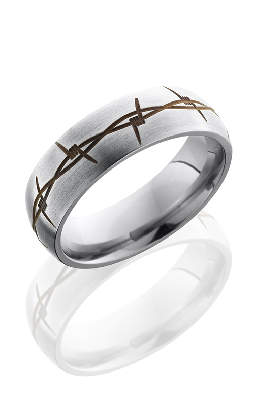Lashbrook Titanium Wedding band 7DBARBRUST product image