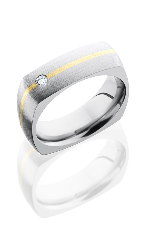 Lashbrook Titanium Wedding band 7DSQ11 14KYDIA07 product image