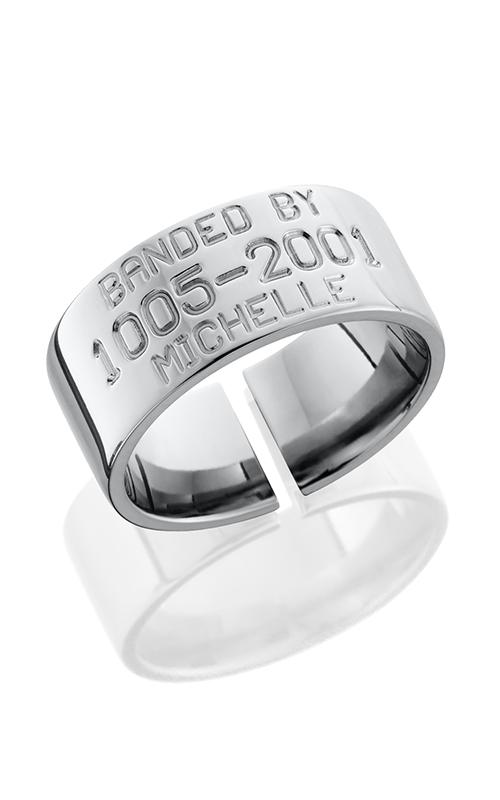Lashbrook Titanium Wedding band 10FBIRDBAND POLISH product image