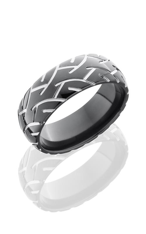 Lashbrook Zirconium Wedding band Z8D-CYCLE2 POLISH product image
