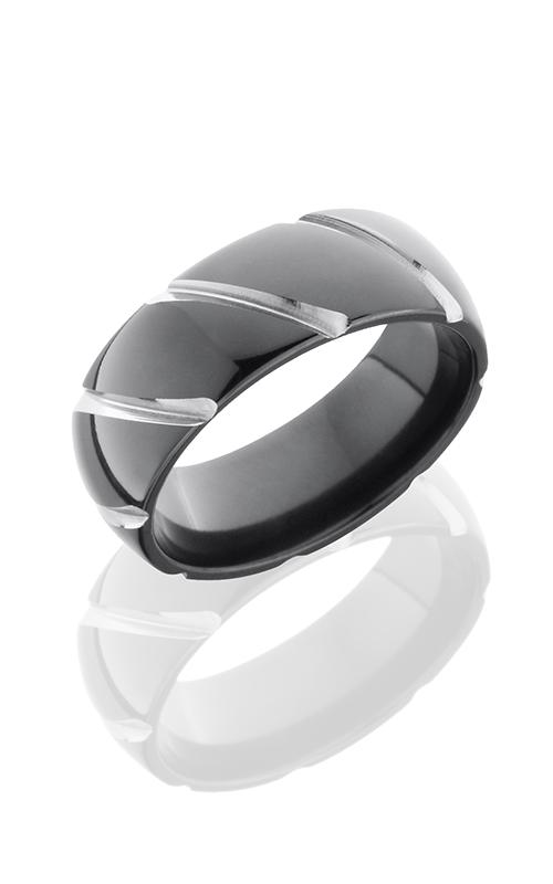 Lashbrook Zirconium Wedding band Z8DSTRIPE product image