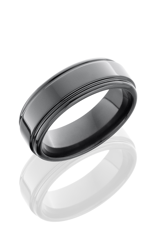 Lashbrook Zirconium Wedding band Z8REF product image