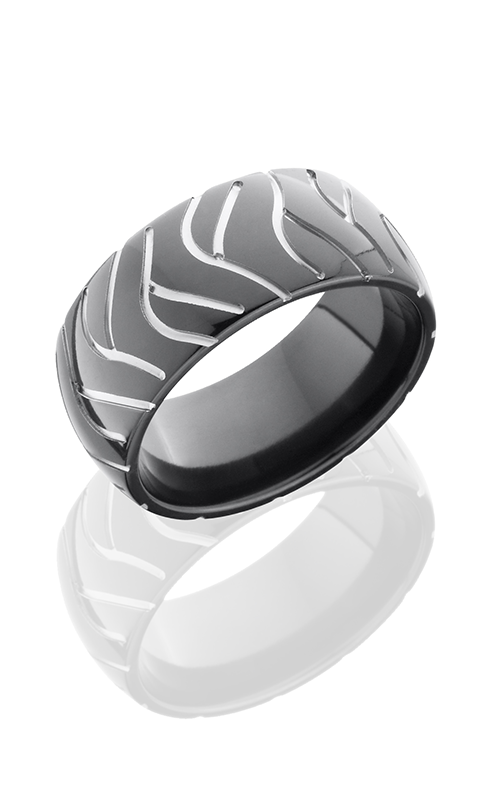 Lashbrook Zirconium Wedding band Z10D-CYCLESUPER2 POLISH product image