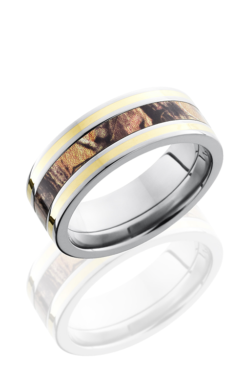Lashbrook Camo Wedding band CAMO8F1321 RTAP14KY POLISH product image