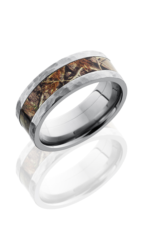 Lashbrook Camo Wedding band CAMO8F14 RTAP HAMMER product image