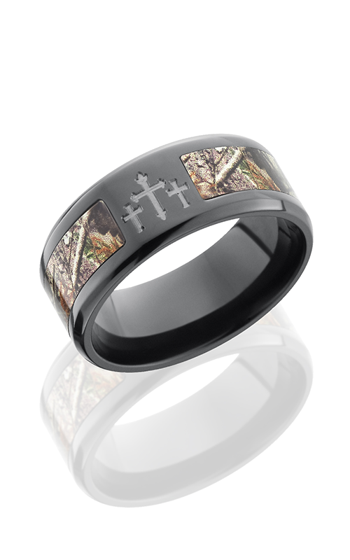 Lashbrook Camo Wedding band ZCAMO9B15SEG 3XRTAP POLISH product image