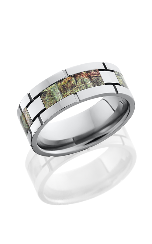 Lashbrook Camo Wedding band CAMO8F4SEG RTAP POLISH product image